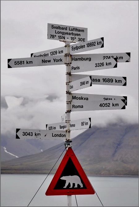 tour du spitzberg